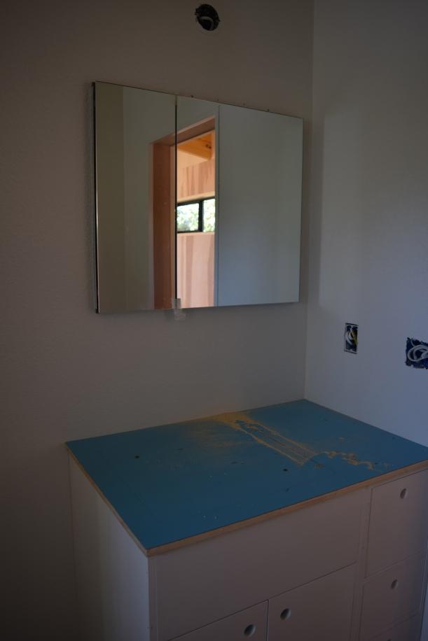 Bathroom vanity Stephen built