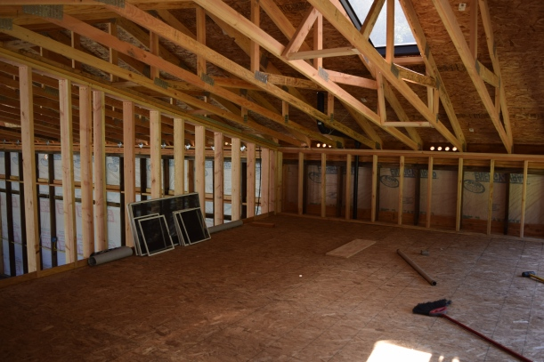 Another view of the loft.